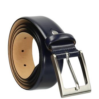 Men's belt bata, blue , 954-9819 - 13