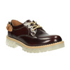 Leather shoes on a transparent sole weinbrenner, red , 598-5603 - 13