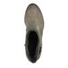 Ladies' ankle-cut shoes bata, gray , 696-2617 - 19