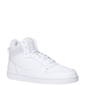 White ankle sneakers nike, white , 801-1332 - 13