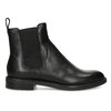 Black leather Chelsea Boots vagabond, black , 514-6007 - 19