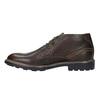 Leather Chukka Boots bata, brown , 824-4701 - 26