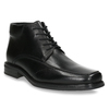 Insulated leather ankle boots, black , 894-6640 - 13