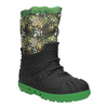 Children's insulated winter snow boots mini-b, green, 392-7200 - 13