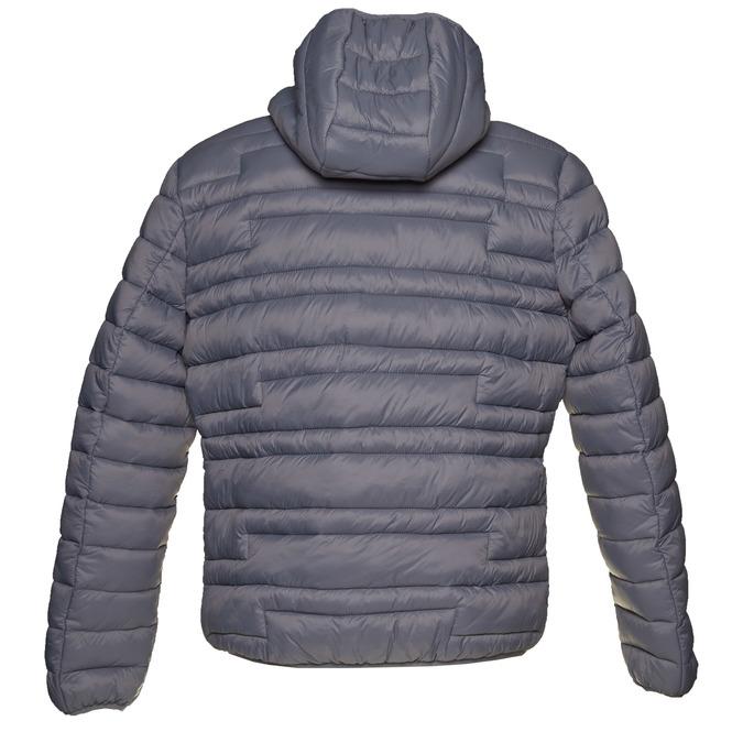 Hooded men's jacket bata, gray , 979-2627 - 26
