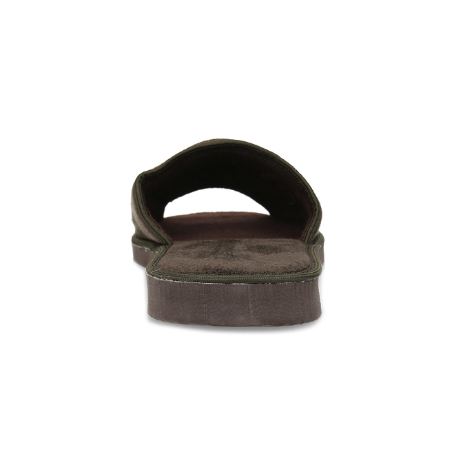 Men's slippers bata, brown , 879-4606 - 15