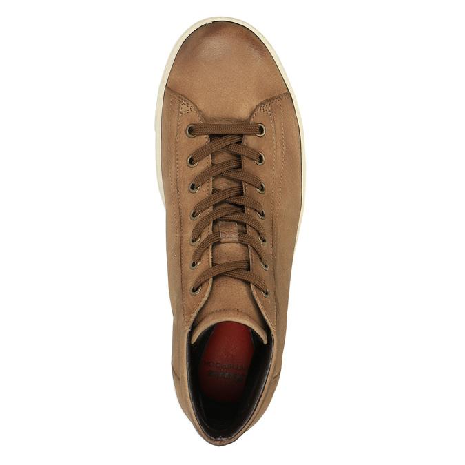 Ladies' ankle sneakers bata, brown , 594-8659 - 19