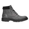 Leather ankle boots with a distinctive sole weinbrenner, gray , 896-2110 - 15