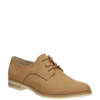 Ladies' Derby shoes bata, brown , 529-3632 - 13