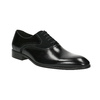 Black leather Oxford shoes conhpol, black , 824-6887 - 13