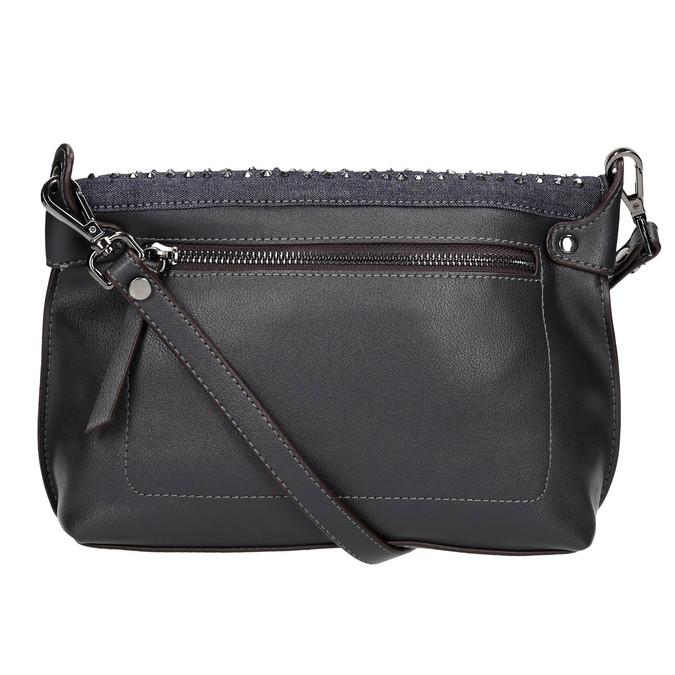 Ladies' crossbody handbag with stars bata, blue , 961-9302 - 26