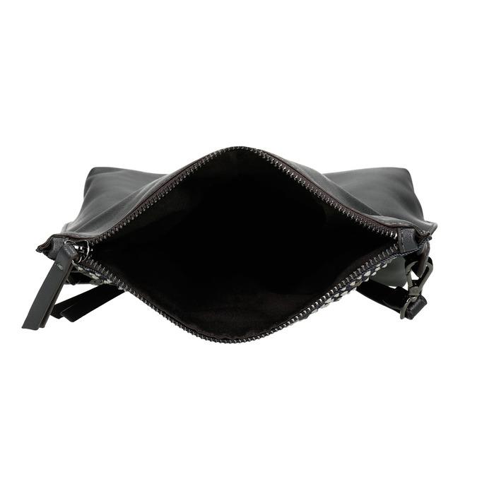Ladies' crossbody handbag with stars bata, blue , 961-9302 - 15