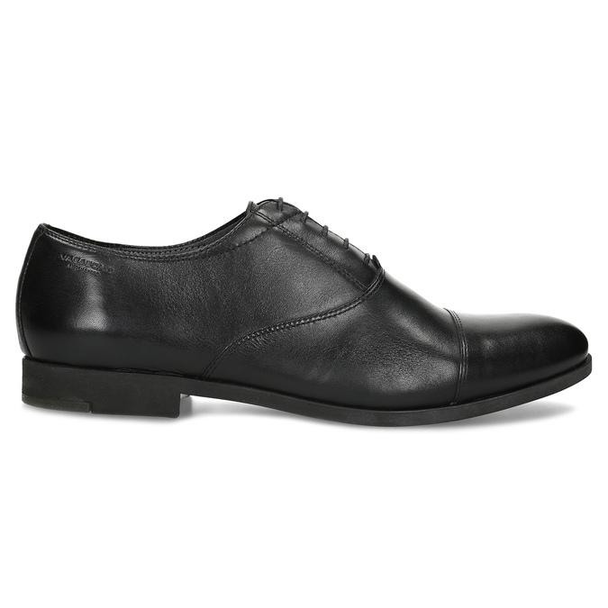 Black leather Oxford shoes vagabond, black , 824-6048 - 19