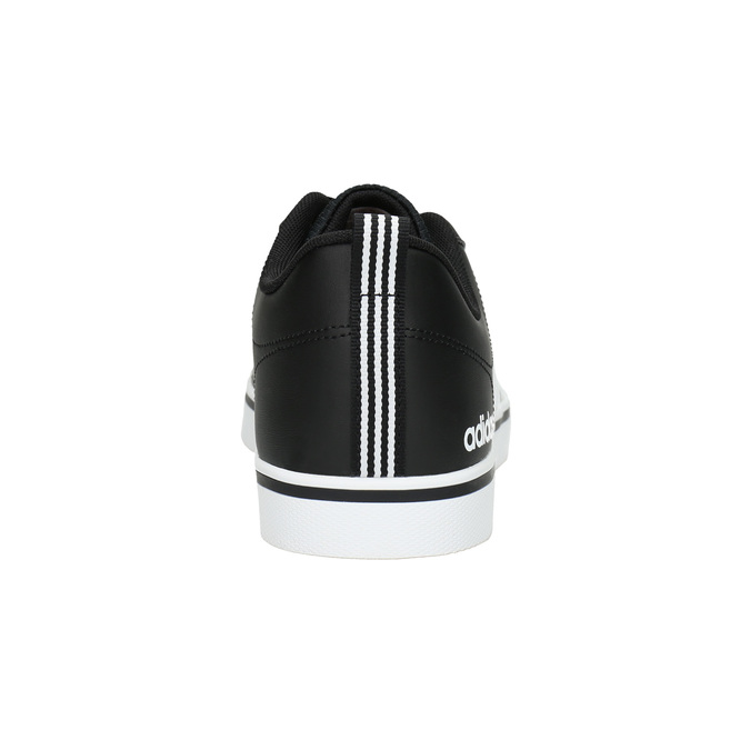 Men's casual sneakers adidas, black , 801-6136 - 17