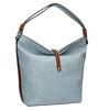 Blue Hobo-style handbag bata, blue , 961-9705 - 13