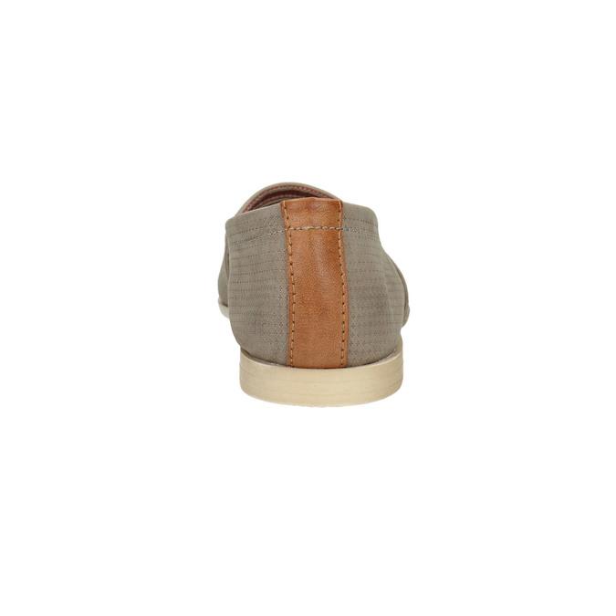 Ladies´ leather Slip-ons bata, brown , 516-2602 - 17