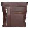 Men's leather crossbody bag bata, brown , 964-4230 - 19