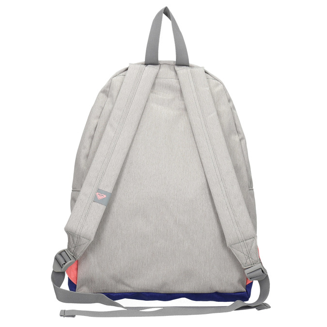 Coloured backpack roxy, gray , 969-2051 - 26
