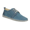 Casual leather shoes weinbrenner, blue , 523-9475 - 13