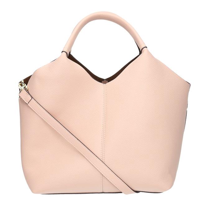 Pink handbag bata, pink , 961-5704 - 19