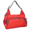Red travel bag, red , 969-5165 - 13