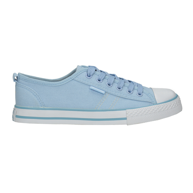 Ladies' blue sneakers north-star, blue , 589-9443 - 15