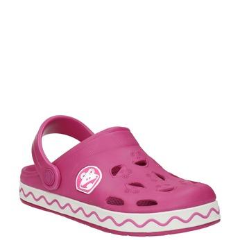 Girls' pink sandals coqui, pink , 272-5602 - 13