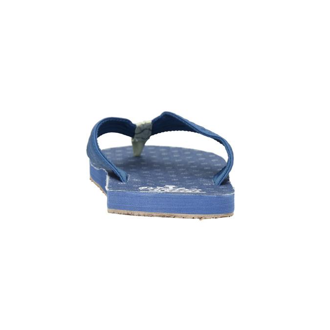 Men's blue flip-flops north-star, blue , 871-9616 - 17