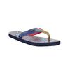 Ladies' flip-flops with denim straps north-star, blue , 579-9617 - 13