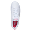 Kids' white sneakers adidas, white , 401-5133 - 19