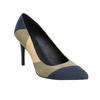 Ladies stiletto pumps insolia, blue , 729-9607 - 13