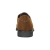 Ladies' brown shoes with stitching bata, brown , 529-4632 - 17