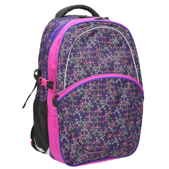 School backpack bagmaster, violet , 969-5648 - 13