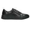 Ladies' leather sneakers bata, black , 526-6630 - 15