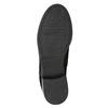 Ladies' studded high ankle boots bata, black , 596-6658 - 17