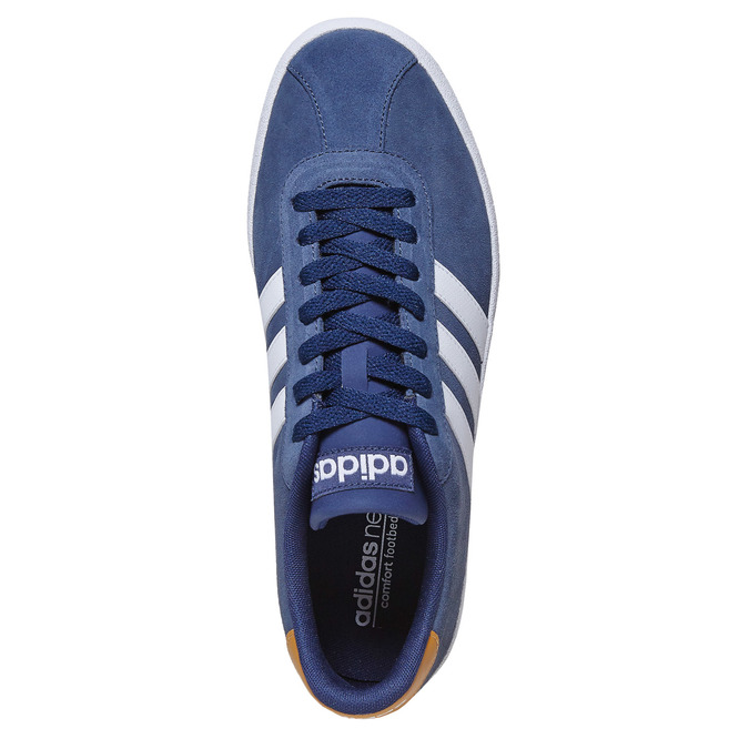 Men's leather sneakers adidas, blue , 803-9197 - 19