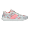 Sneakers with a floral pattern power, gray , 509-2203 - 26
