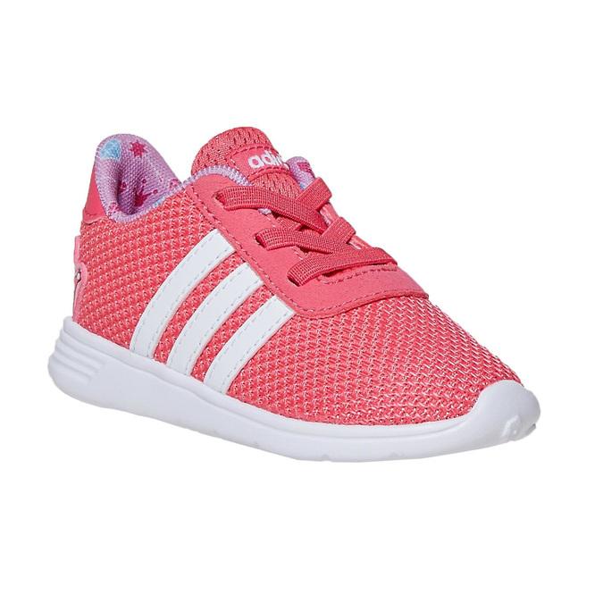 Girls' pink sneakers adidas, pink , 109-5288 - 13