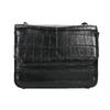 Ladies' handbag with a chain bata, black , 961-6753 - 19
