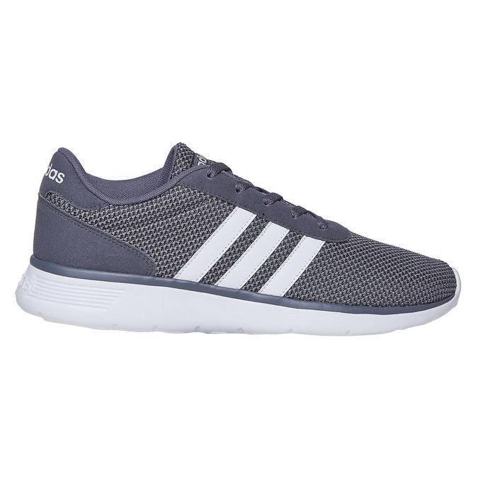 Men's grey sneakers adidas, gray , 809-2198 - 15