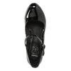 Black patent pumps insolia, black , 721-6610 - 26