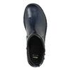 Ladies' leather high boots bata, blue , 596-9657 - 26