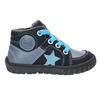 Boys' leather shoes bubblegummer, blue , 113-9601 - 15