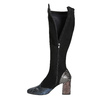 Ladies' High Boots with Sturdy Heel, black , 796-6010 - 15