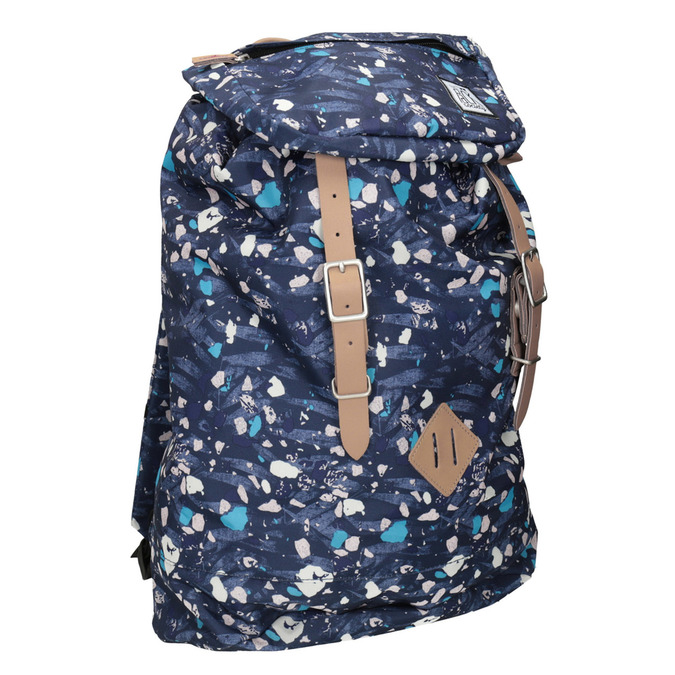 Backpack with Colourful Pattern, blue , 969-9076 - 13