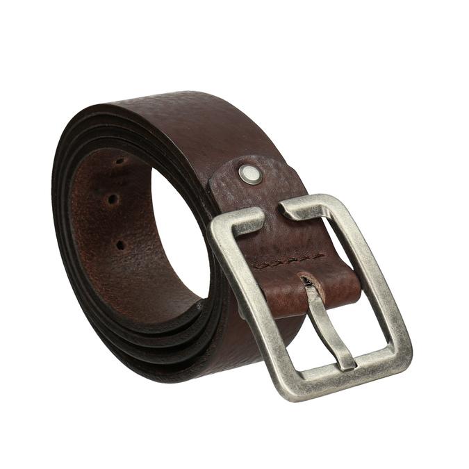 Men's brown belt, brown , 954-4190 - 13