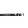 Ladies' leather belt bata, black , 954-6199 - 26