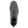 Men's leather ankle boots bata, gray , 823-2615 - 26