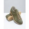 Ladies' leather khaki sneakers bata, green, 523-7604 - 19