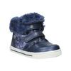 Girls' shoes with fur bubblegummer, blue , 121-9621 - 13